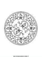 Mandala Di Natale Disegni Da Colorare Di Mandala Disegni Di Natale